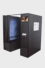 Inventive Photo Booth in black